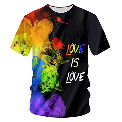 - pinata Gay Pride Mens T Shirts 3D Printed Short Sleeve Polyester Top Tees for Men Unisex