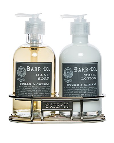 Barr Co Sugar N Cream Hand & Body Duo with Caddy by k hall designs ()