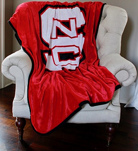 Dormitory 101 NC State University Wolfpack Premium Plush Fleece Blanket - 60''X80'' - New to Market! by Dormitory 101 (Image #3)