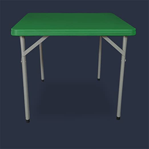 GWF Mesa Plegable Mesa de plástico El Metal es Acero Mesa Mahjong ...