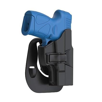 Taurus PT111 G2 G2C Holster, Tactical OWB Paddle Holster Also Fit Taurus  Millennium G2C G2 PT111 PT132 PT138 PT140 PT145 PT745(Not Pro) with Trigger