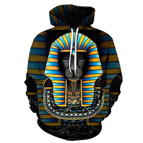 New Fashionart Lion Hoodies Sweatshirts Men Tracksuits Funny Hoody Streetwear Outdoor Outwear Tops Youth Boys 3X