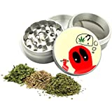 Deadpool Eyes Design- 42 mm- 4Pcs Small Size Herbal or Tobacco Grinder Item # 42G21916-6