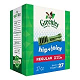 Greenies Hip and Joint Regular Size Dental Dog Chews - 27 Ounces 27 Treats
