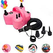 YOLOK Electric Air Pump for Balloon Inflatables Pool Floats Air Bed Pool Toy Raft Boat Swimming Ring Pump Port