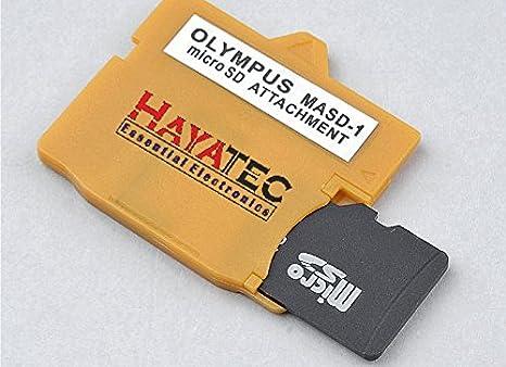 Lector de Tarjeta de Memoria xD-Picture Adaptador conversor a para Olympus MASD-1 Micro SD SDHC SDXC