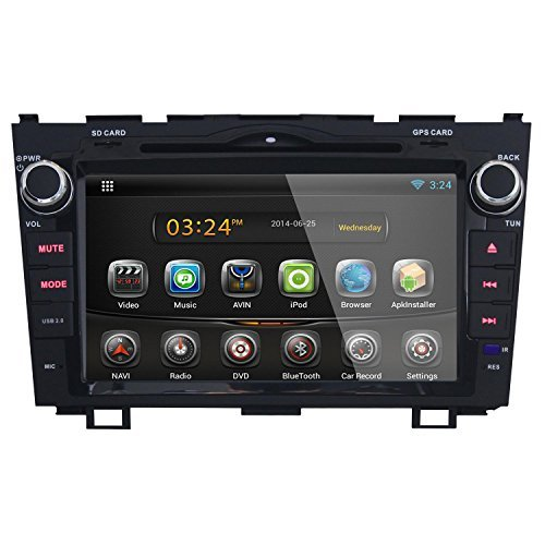 Ouku TNJY 8815 JY 8 Inch Android DVD Player With Biult In Wifi, 3G, GPS  Navigation For Honda CRV 2008, 2009, 2010, 2011