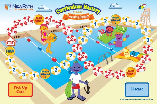 NewPath Learning Math Facts Curriculum Mastery Game, Grade 2-5, Class Pack