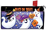 Briarwood Lane Trick or Treat Halloween Mailbox Cover Ghosts Candy Jack O'Lantern Standard