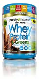 Purely Inspired 100% Pure Whey & Greens, Pure Whey Protein Powder, Decadent Chocolate, 1.5 Pounds For Sale