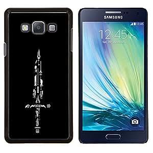 For Samsung Galaxy A7 A7000 Case , Espada Colección- Diseño Patrón Teléfono Caso Cubierta Case Bumper Duro Protección Case Cover Funda