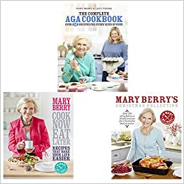 Mary Berry Cookbook Collection 3 Books Bundle The Complete