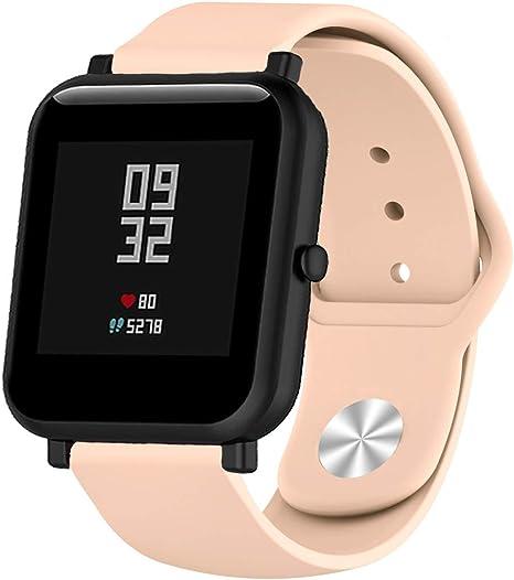 XiangMi - Correa de Silicona para Reloj Samsung Gear S3, 18 mm, 20 ...