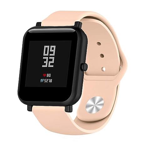 XiangMi - Correa de Silicona para Reloj Samsung Gear S3, 18 ...