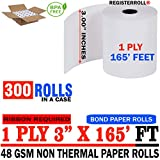 Star MICRONICS SP700 (All) 1-Ply 3 inch x 165' Paper 300 Rolls | Extra Value Pack | from RegisterRoll