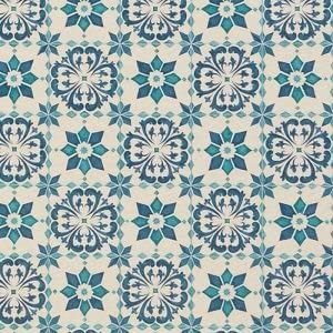 東リ クッションフロアH モロッコタイル 色 CF9003 サイズ 182cm巾×4m 〔日本製〕