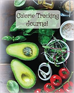calorie tracking journal large 8 x 10 food diary weight loss tool