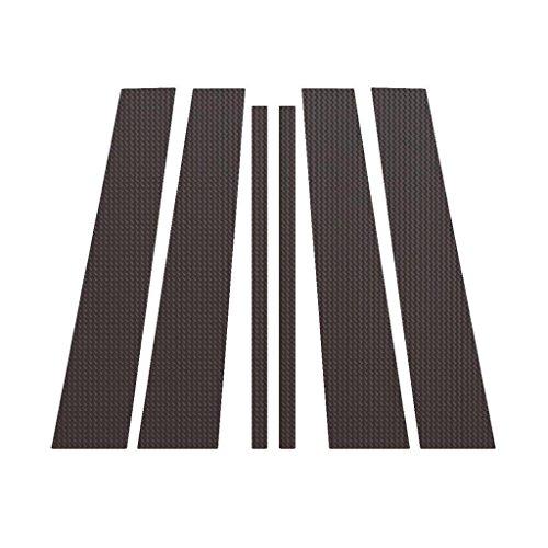 Carbon Fiber Pillar Post Trim Cover fits: 2009-2015 Honda Pilot All Models - Ferreus Industries - PIL-134-CF