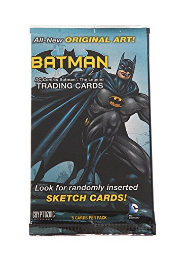 Costumes Hero Factory (Cryptozoic DC Comics Batman: The Legend Factory Sealed Trading Cards Single)