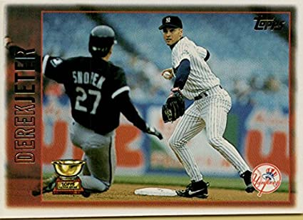 Derek Jeter All Star Rookie 1996 Topps Stadium Club