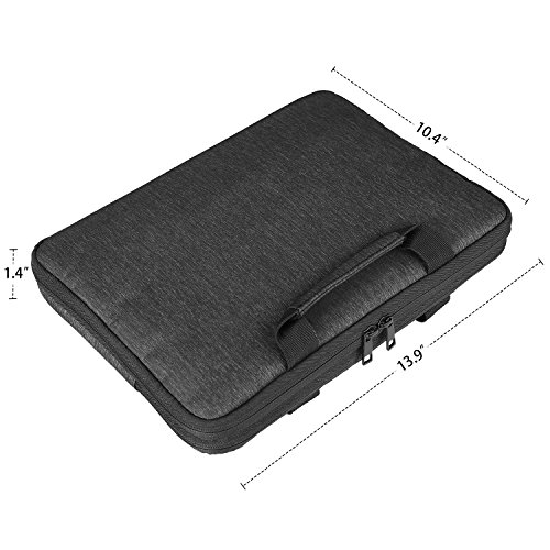 Devmlicor 13-13.3 inch Laptop Sleeve Multifunctional Waterproof Laptop Case Bag for Apple Macbook Notebook Ultrabook - 360° Protective Chromebook Tablet Case by Devmlicor (Image #3)