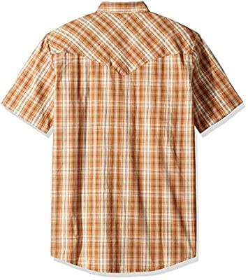 dickies Men's Short Sleeve Flex Western Shirt