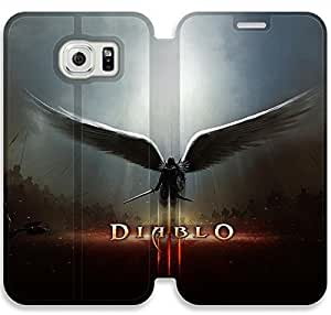 Diablo-15 iPhone Samsung Galaxy S6 Leather Flip Case Protective Cover New Colorful