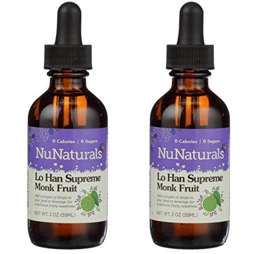 NuNaturals Pure Liquid Lo Han Supreme, 2 Ounces (Pack of 2) Review