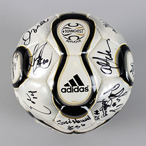 2008 Galaxy Team Signed Soccer Ball 25+ Sigs. - David Beckham, etc. - COA - JSA Certified - Autographed Soccer ()