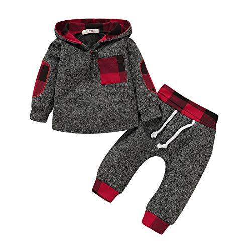 TMEOG Baby Kleding Sets Baby Peuter Jongens Meisjes Sweatshirt Set Winter Herfst Kleding Outfit 0-3 Jaar Oud, Baby…