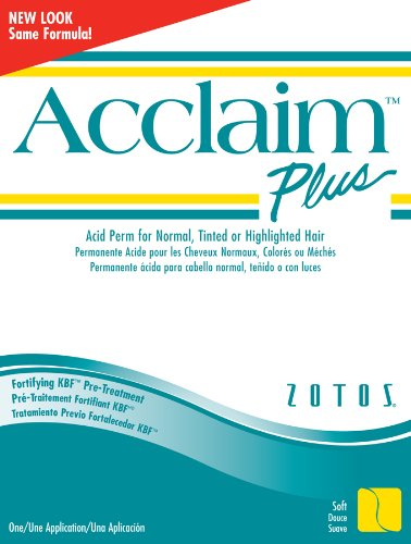 Acclaim Plus Acid Perm for Normal, Tinted or Highlighted Hair Kit (Pack of 6)