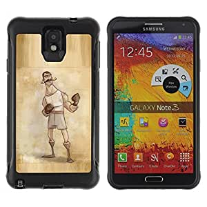 Jordan Colourful Shop@ Boxer Retro Vintage Manly Man Gloves Rugged hybrid Protection Impact Case Cover For Note 3 Case ,N9000 Leather Case ,Leather for Note 3 ,Case for Note 3 ,Note 3 case