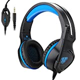 PECHAM Gaming Headset with Mic for New Xbox One, PS4,Nintendo Switch, PC - Surround Sound, Noise Reduction Game Earphone - Easy Volume Control - 3.5MM Jack for Smart phone, Laptops, computer by BUTFULAKE