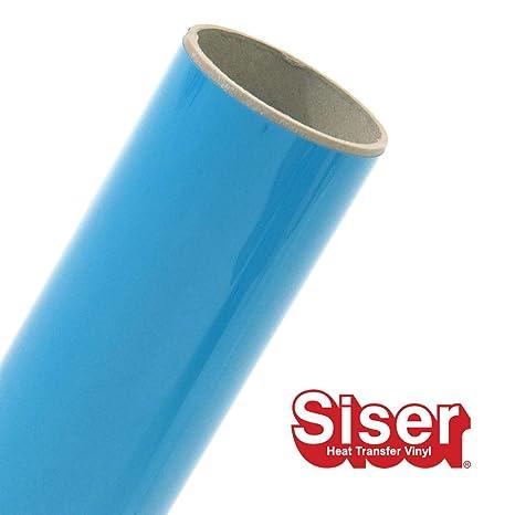Iron on Heat Transfer Vinyl Siser EasyWeed HTV 11.8 x 75ft Roll White