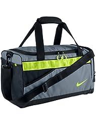 Nike Varsity Duffel Duffel Grey/Volt/Black