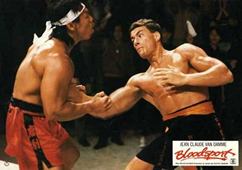 Bloodsport POSTER Movie (1988) Style Q 11 x 14 Inches - 28cm x 36cm (Jean-Claude Van Damme)(Leah Ayres)(Roy Chiao)(Donald Gibb)(Bolo Yeung)(Norman Burton)(Forest Whitaker)