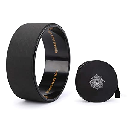 Amazon.com : LBAFS Yoga Wheel-Dharma Yoga Prop Circle ...