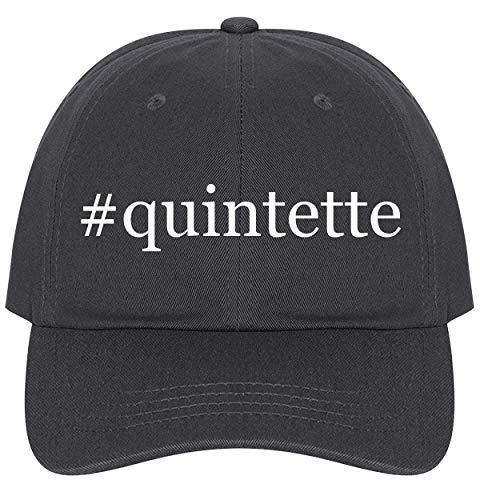 - The Town Butler #Quintette - A Nice Comfortable Adjustable Hashtag Dad Hat Cap, Dark Grey