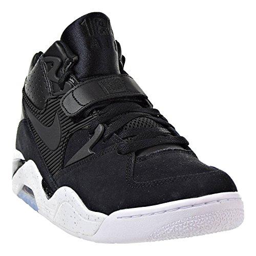 Nike Herren Air Force 180 Hohe Sneaker Schwarz (Black-White 003)