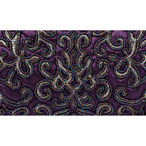 Dîner Parti Accessoires À Rétro Purple Robes Banquet Perlé couleur 25cm Gray Pour Fourre Femmes Cheongsam De Sac Soirée Taille Perle Sacs Main 28 tout Du Conférence 6q4FUwdX6