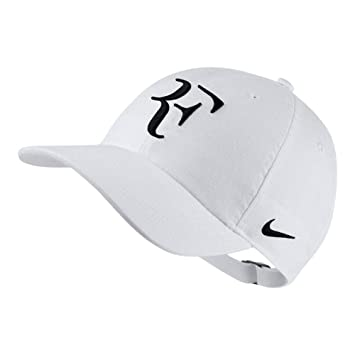 Nike RF U Nk Arobill H86 Cap Gorra, Hombre, Blanco/Negro, Talla Única: Amazon.es: Deportes y aire libre