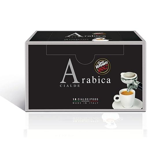 22 opinioni per Caffè Vergnano 1882- Cialde Arabica- 2 confezioni da 18 cialde [36 cialde ]