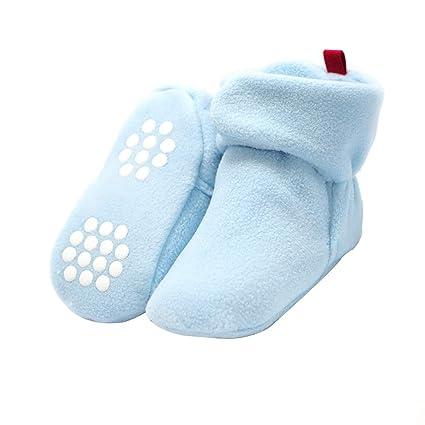 Zapatos para Bebés Niñas, laamei Botas Calientes Invierno Reborn ...
