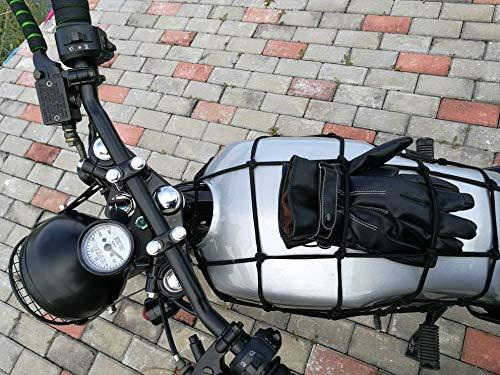 FidgetFidget Handlebar Universal Black 7/8'' New Drag Style Bar Motorcycle for Harley Custom by FidgetFidget (Image #6)
