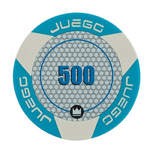 Juego Poker Chips Set/Fiches incl. 100 Poker Chips 14 gr. with Tournament -