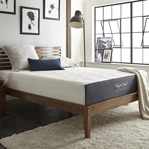 Perfect Cloud Hybrid Memory Foam Mattress 11-inch (Queen) - Experience The Soft Touch of Memory Foam with The Comforting Support of a Spring Mattress - New 2018 Model