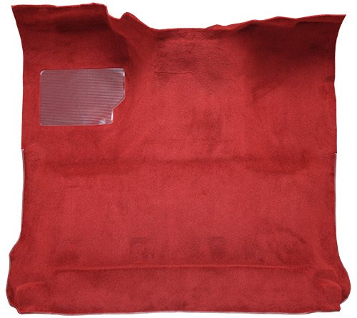 Cab 2wd Carpet (1980-1983 Ford F-100 Reg Cab 2WD Cutpile Factory Fit)
