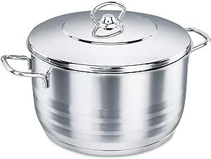 كوركماز بيرلا ستانلس ستيل طنجرة طبخ 2.3 لتر ، فضي ، A1654