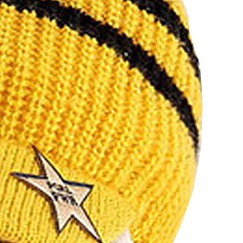 Mibuy Bufandas Bebe Niños Invierno De Tubo Sombrero Doble Estrella ...