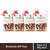 Brookside Exotic Chocolates - Assorted Pack 90gm- (Pack of 4)